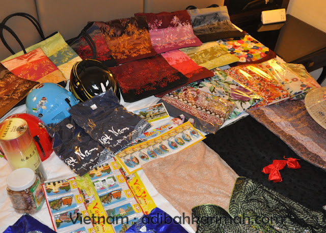 free trip to vietnam from hai-o for premium beautiful top agents souvenirs for clients