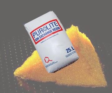 hạt làm mềm nước purolite