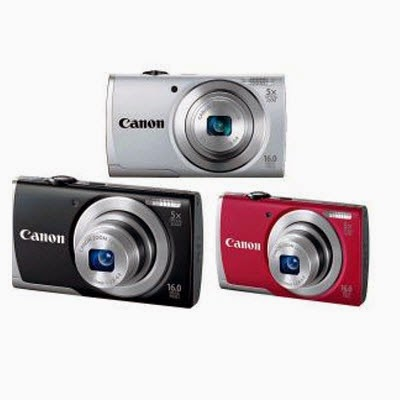eBay : Buy Canon PowerShot A2500 Camera + 4GB Card + Case  at Rs 4179 only