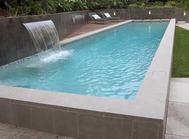 Fotos de piscinas piscinas rectangulares for Piscinas de plastico rectangulares