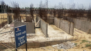 Golf Country, Yamuna Expressway :: Construction Status on July 2014 :-Tower C-3 2BHK 1000 sq ft