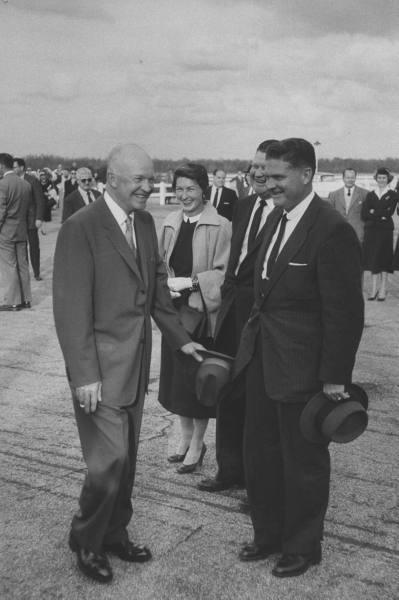SAIC James Rowley, Truman-Ike (pictured)-JFK