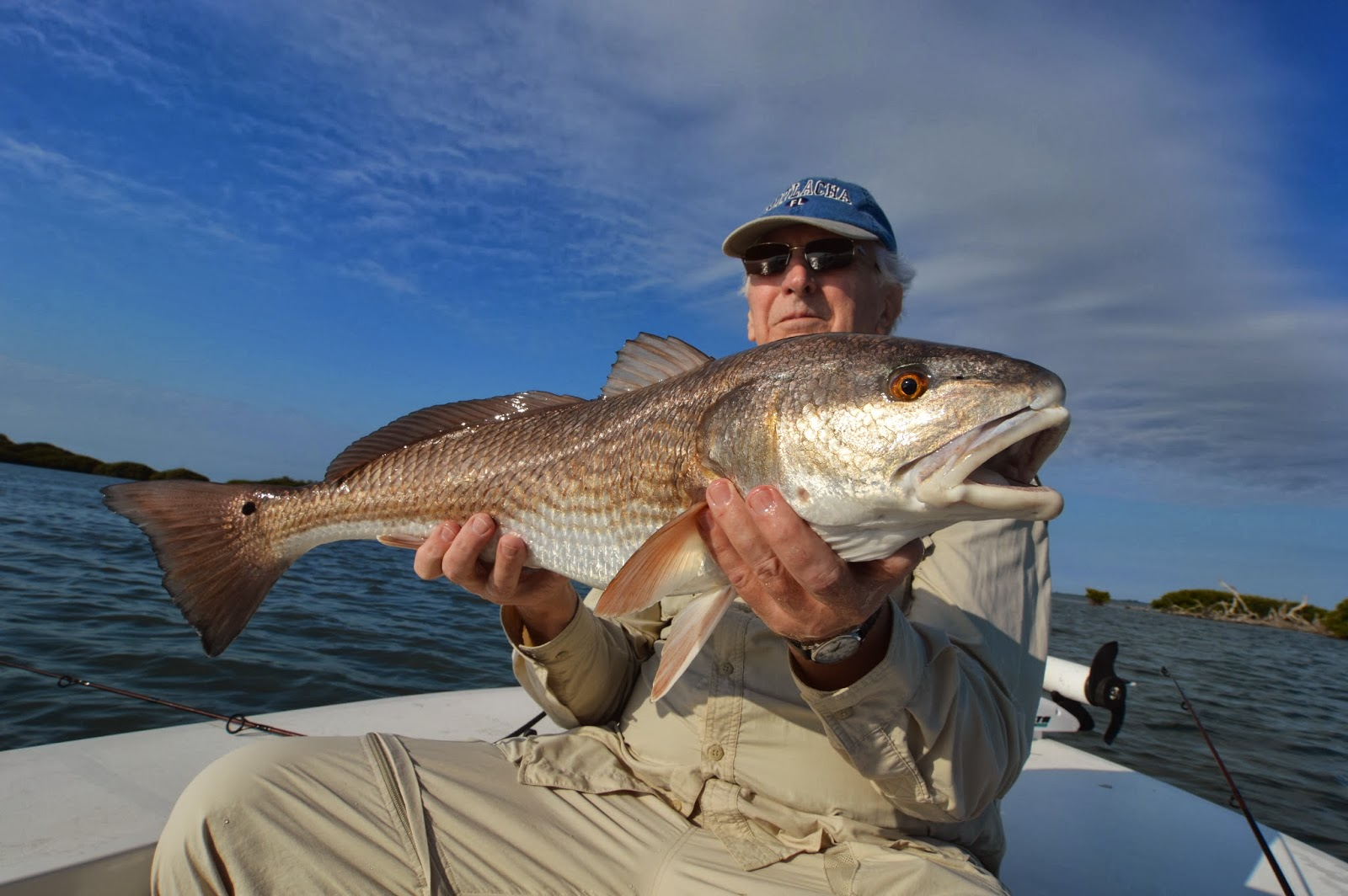 The pine island angler pine island fishing report mixed for Island current fishing report