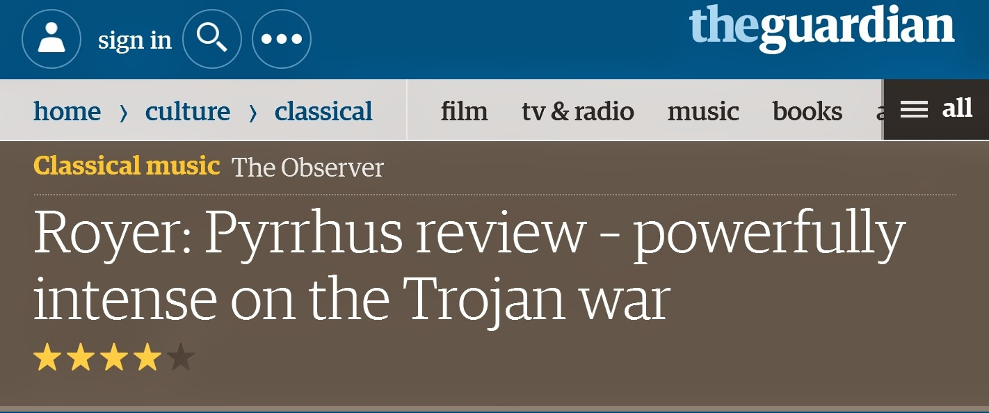 www.theguardian.com/music/2014/apr/20/royer-pyrrhus-enfants-apollon-greenberg-crawford