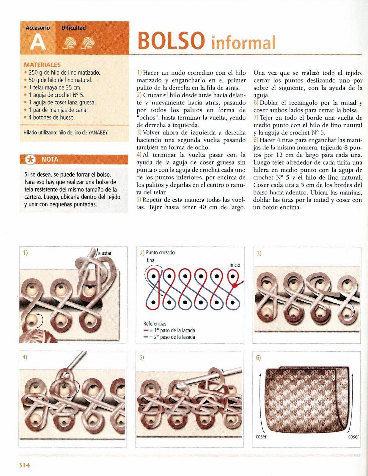 y hacer nuevas ideas, a partir de este proyecto, pues no es mucha la información que se puede encontrar para el uso del telar azteca o rectangular