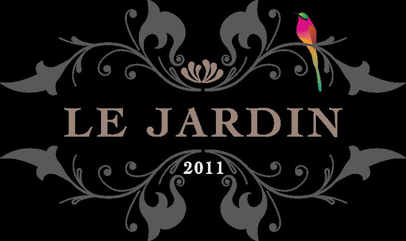 Pen lope y ale se casan la fiesta for Logo jardin