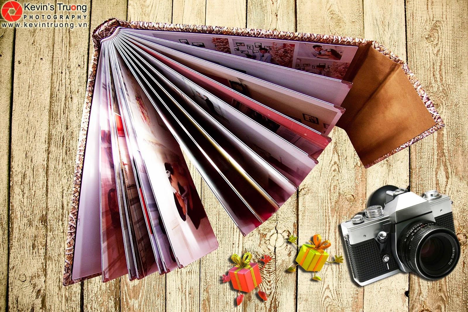 Gia Công-In Album Cát Kim Tuyến-Album 3D,Photobook,Ép gỗ các loại - 7
