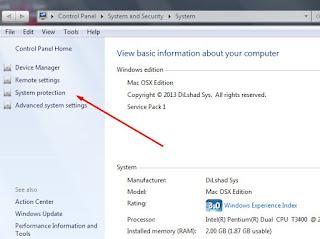 Kegunaan Dan Cara Membuat Restore Point Pada Windows 7