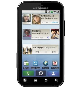 Buy Phone Motorola Defy MB525 Unlockedwith Android OS 2.2, 5MP Camera, Wi-Fi and GPS
