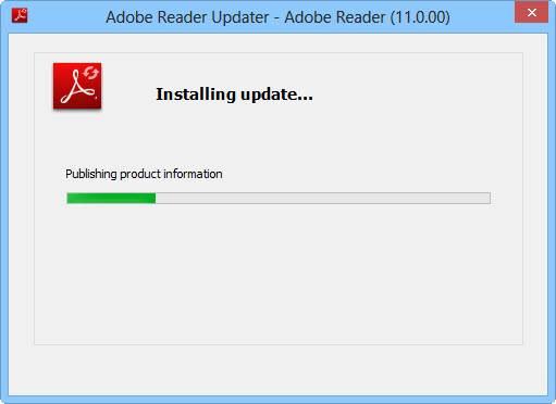 unable to open pdf files using adobe reader xi