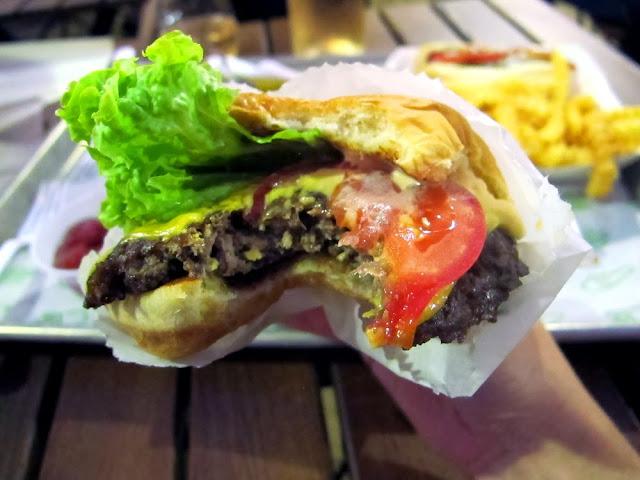 ShakeShack burger