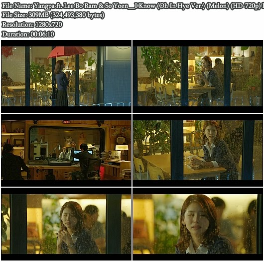 Download MV Yangpa ft. Lee Bo Ram (Seeya) & So Yoen (T-ara) - I Know (Oh In Hye Version) (Melon HD 720p)