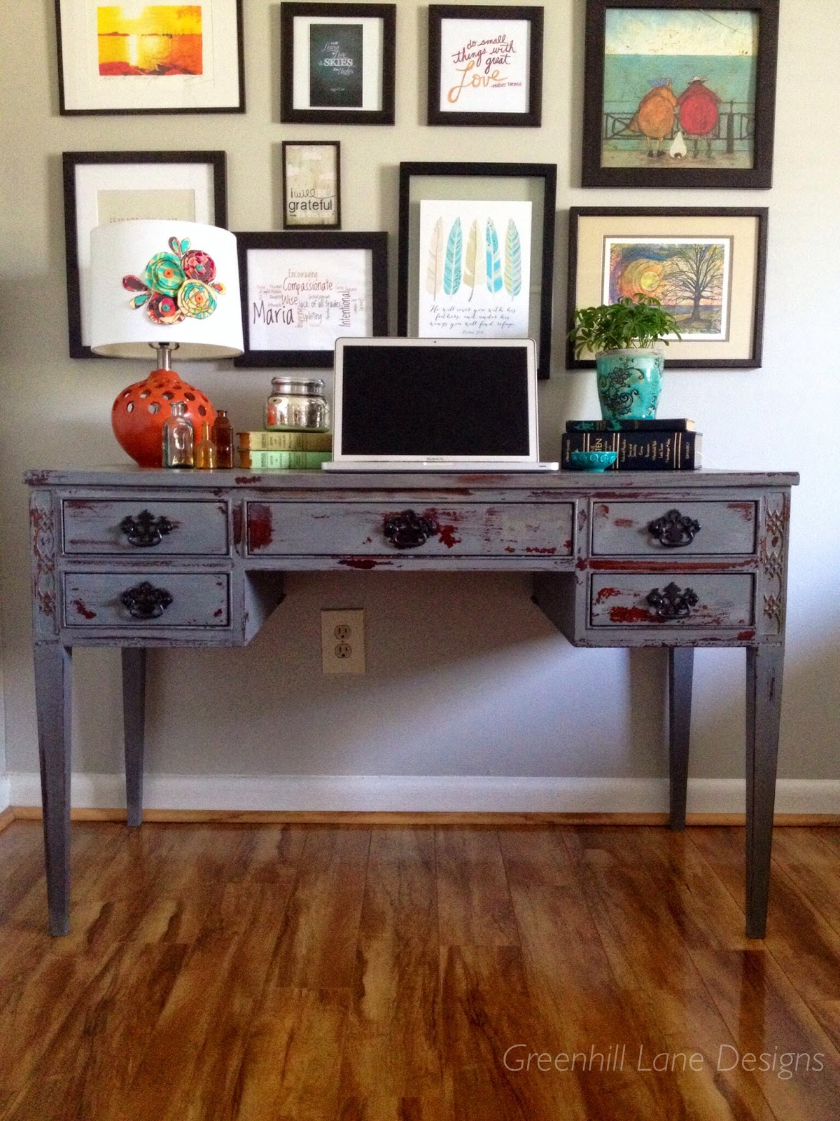a chippy anthropologie style desk anthropologie style furniture