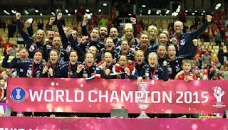 BALONMANO (Mundial femenino 2015) - Noruega completa el triplete y clasifica a España para Río
