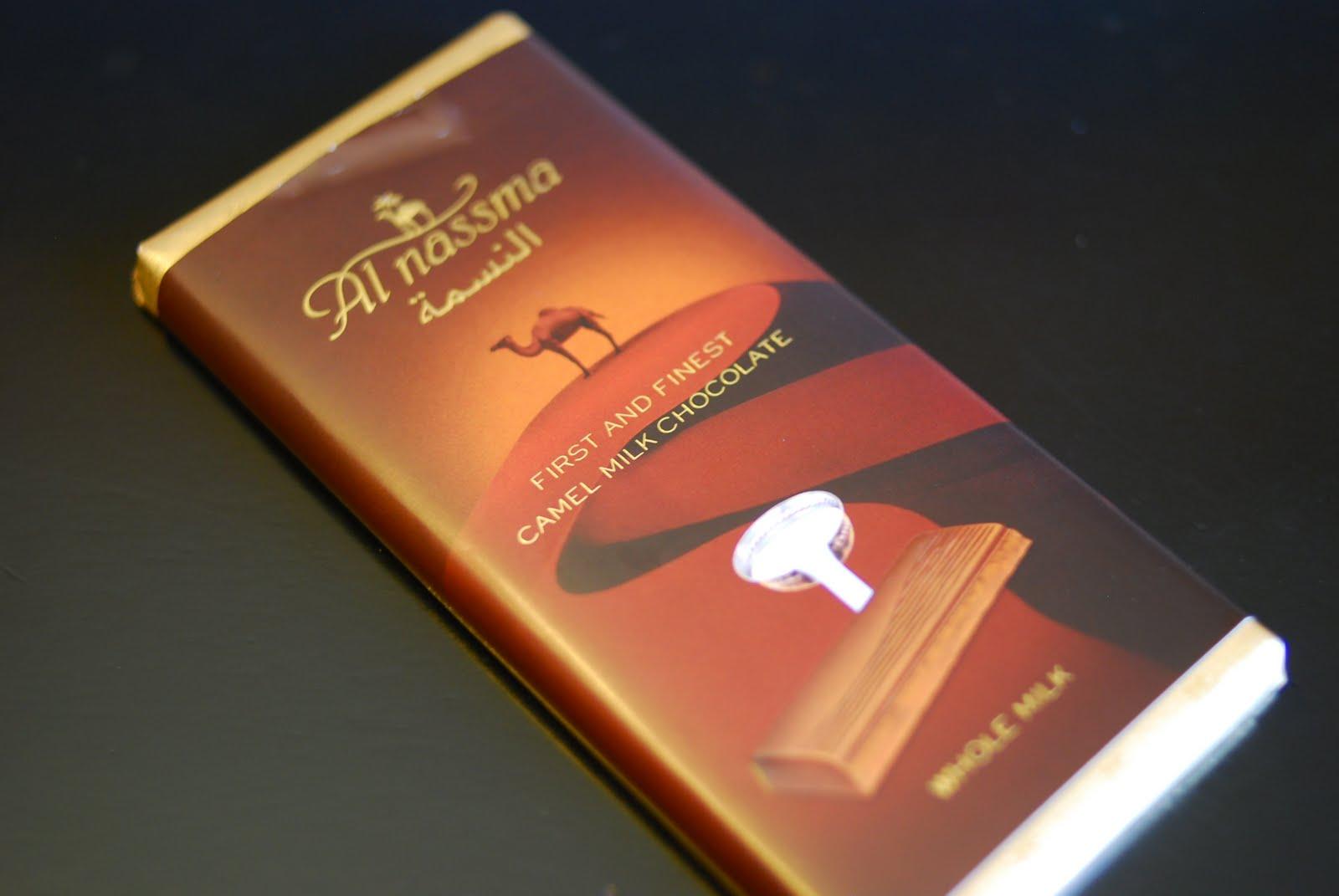 Camel Milk Chocolate Review