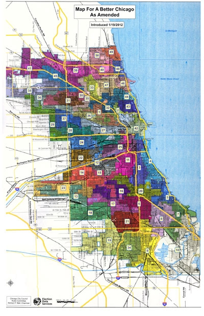 The Sixth Ward Clout Street Group sues over new Chicago ward map