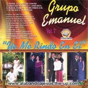Grupo Musical Emmanuel-Vol 7-Yo Me Rindo En Él-
