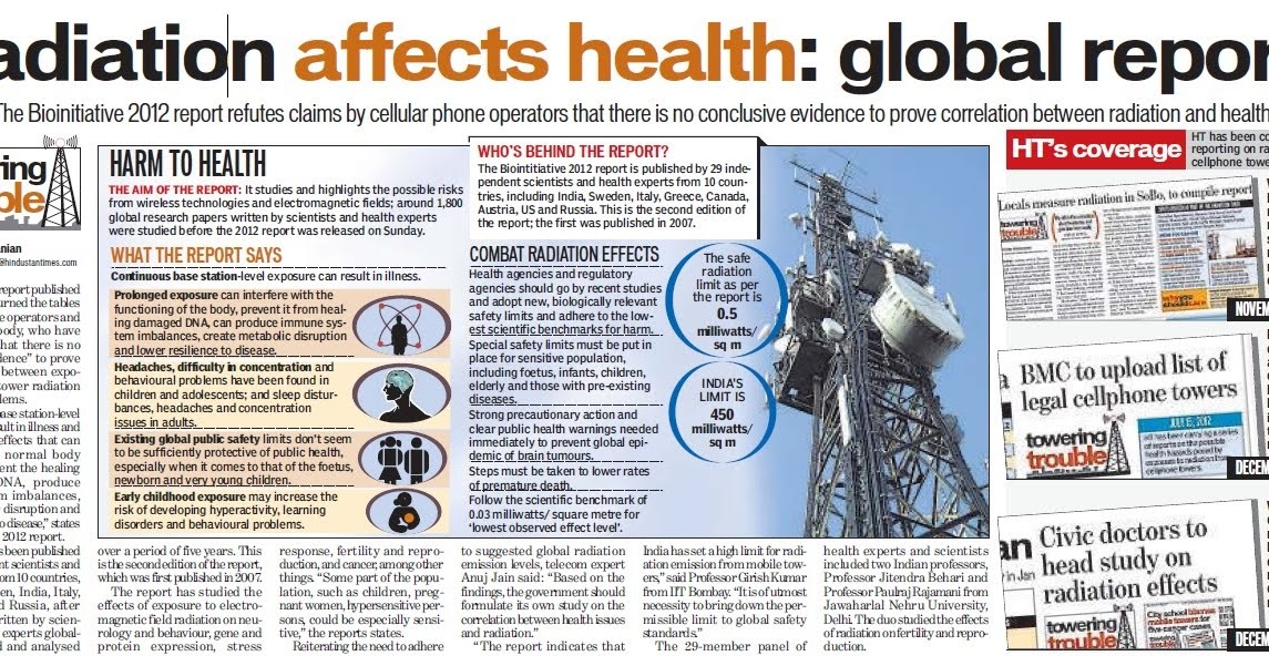 are cell phones a health hazard A study suggest that increased use of cell phones may be linked to certain types of brain cancer and other health effects.