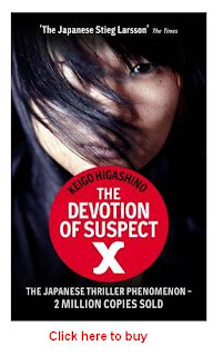 The Devotion of Suspect X by Keigo Higashino !!!