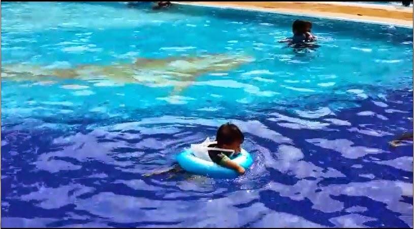 Danish dah pandai swim