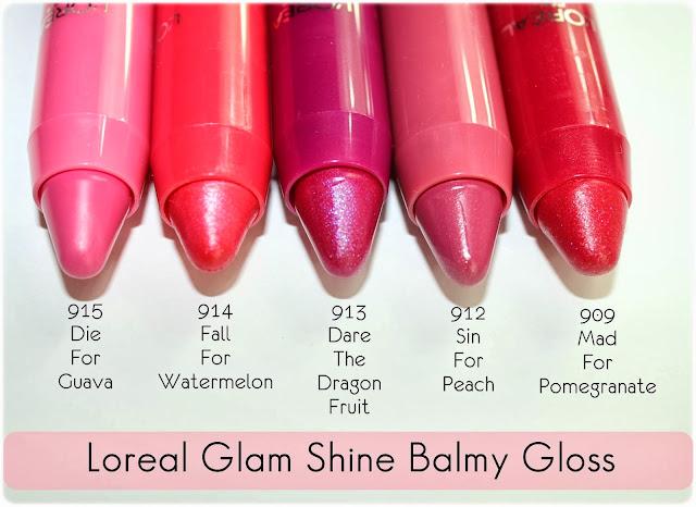 Loreal Glam Shine Balmy Gloss