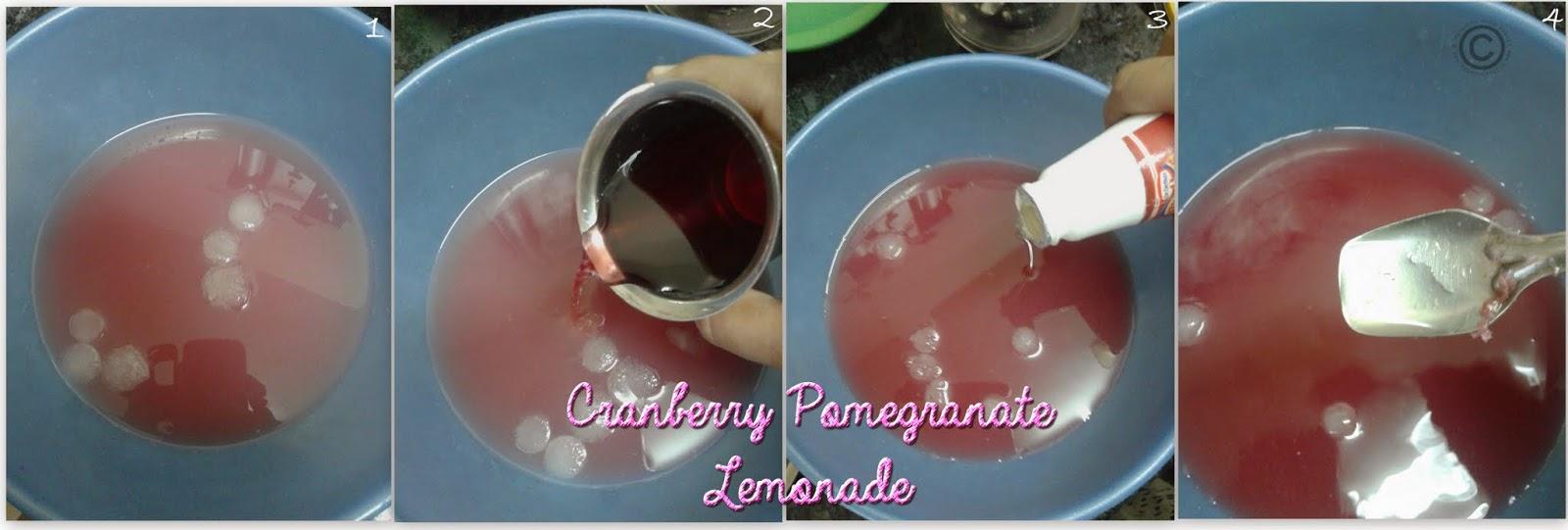 Cranberry - pom-lemonade