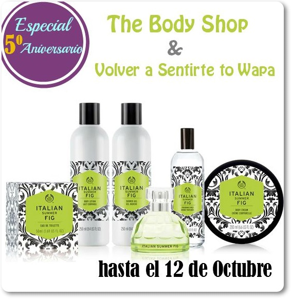 SORTEO The Body Shop {5º Aniversario}