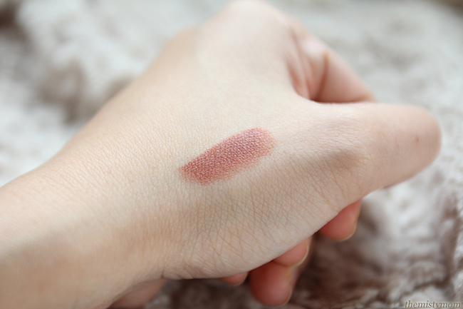 mac velvet teddy lipstick swatch