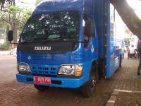 Pengiriman Bus B 9679 POU Jakarta ke Makasar