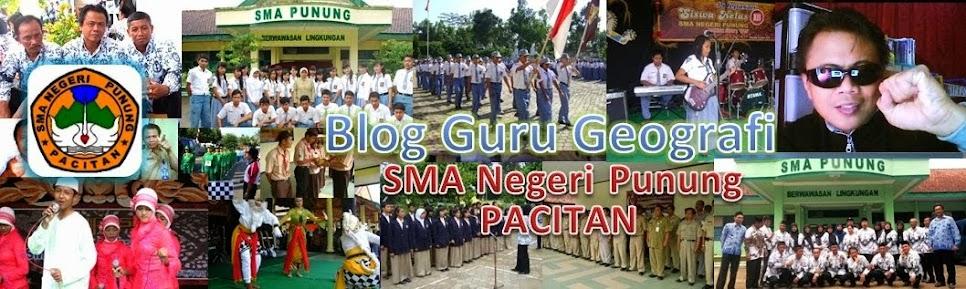 Belajar Geografi bersama M. FATA FIRDAUS, guru geografi SMA Negeri Punung, Pacitan Jawa Timur