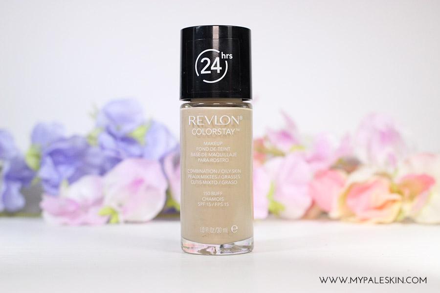 Revlon Colourstay Foundation 150 BUFF pale skin foundation my pale skin