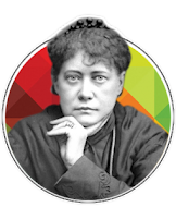 Helena Petrona Blavatsky   (1831 - 1891)