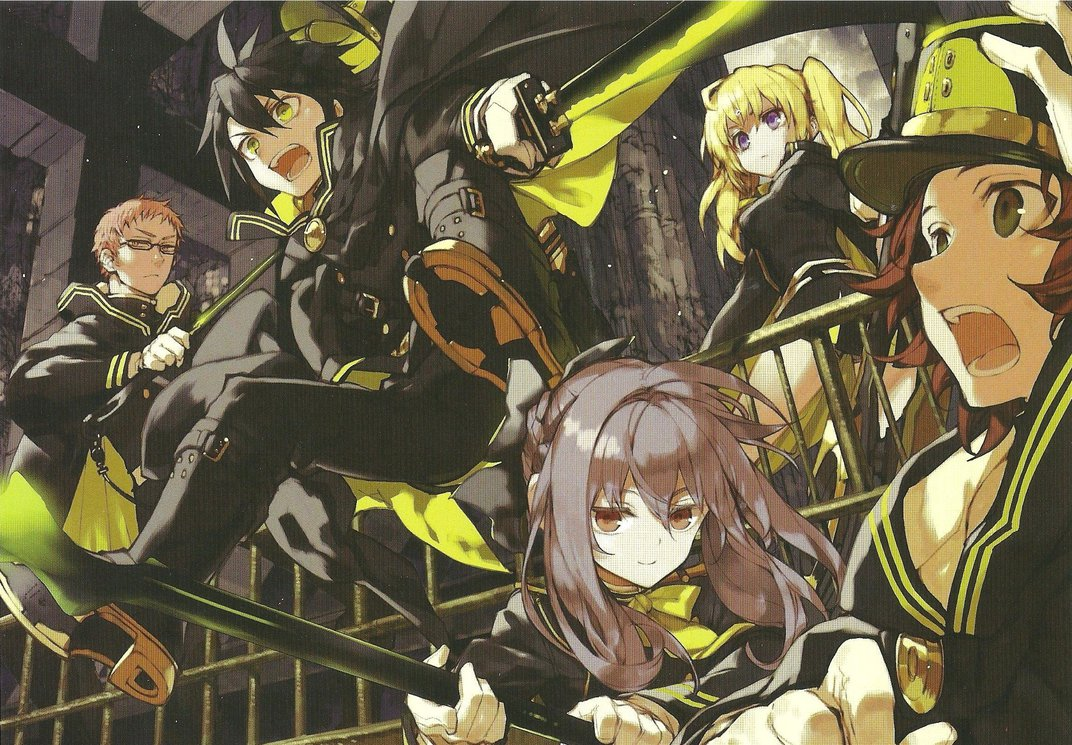 Recce Squad Hd Wallpapers: Mundo Distorsión : Reseña Anime: Owari No Seraph