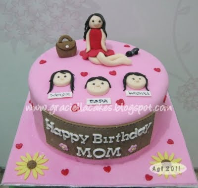 Birthday Cake Pictures For Mother : Graciella Cakes Birthday - Manye Cake - Wedding Cupcake ...