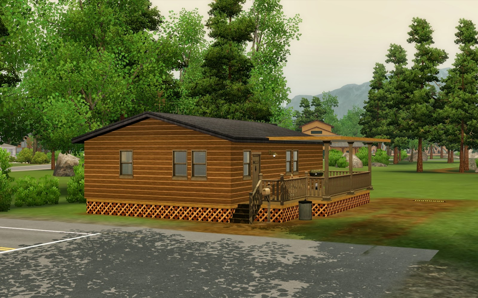 Summer's Little Sims 3 Garden: Moonlight Falls (The Sims 3 ... on