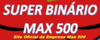 MAX  500 - PRODUTOS  NATURAIS