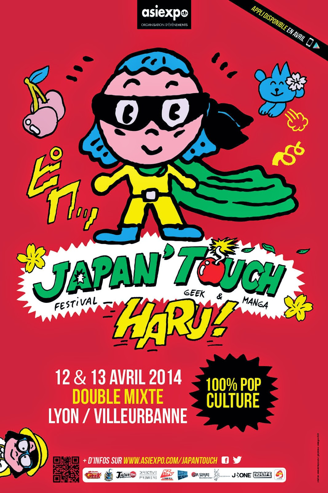 affiche de la convention haru japan touch