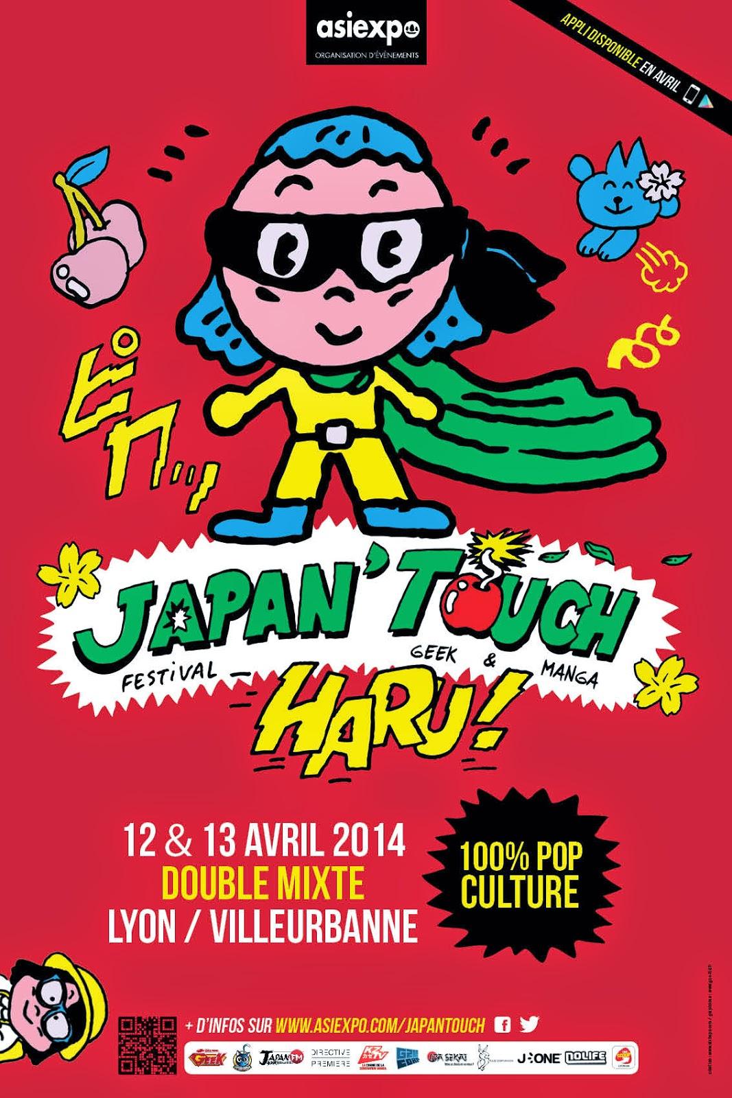 affiche de la convention haru japan touch