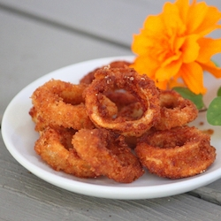 how to make simple fried calamari