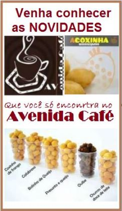 Avenida Café um lugar para se ver e ser visto!
