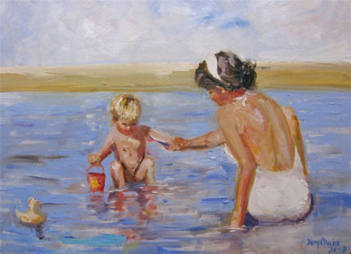 Oι 4 τύποι Ελληνίδας μάνας στην παραλία