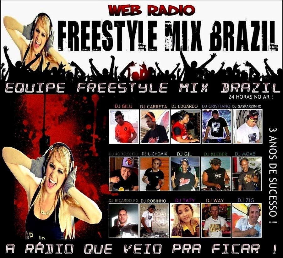 WEB RADIO FREESTYLE MIX BRAZIL