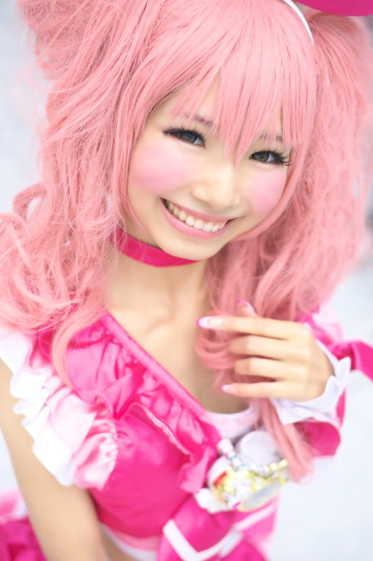 CosRain.Com Midori HIMEMIYA MAHORE's COSPLAY - Cure Melody
