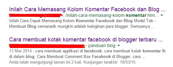Contoh Judul Artikel Terpotong oleh Google