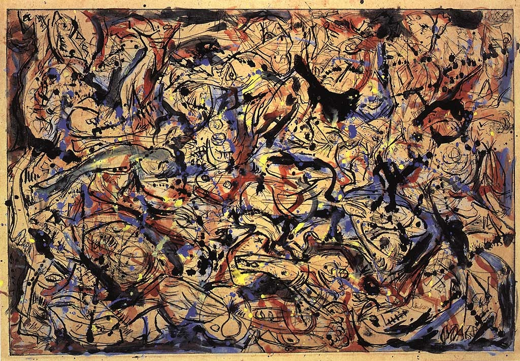 essay on jackson pollock This paper discusses the life and work of jackson pollock, who is one of the central figures in the development of the strictly american art movement called abstract expressionism.