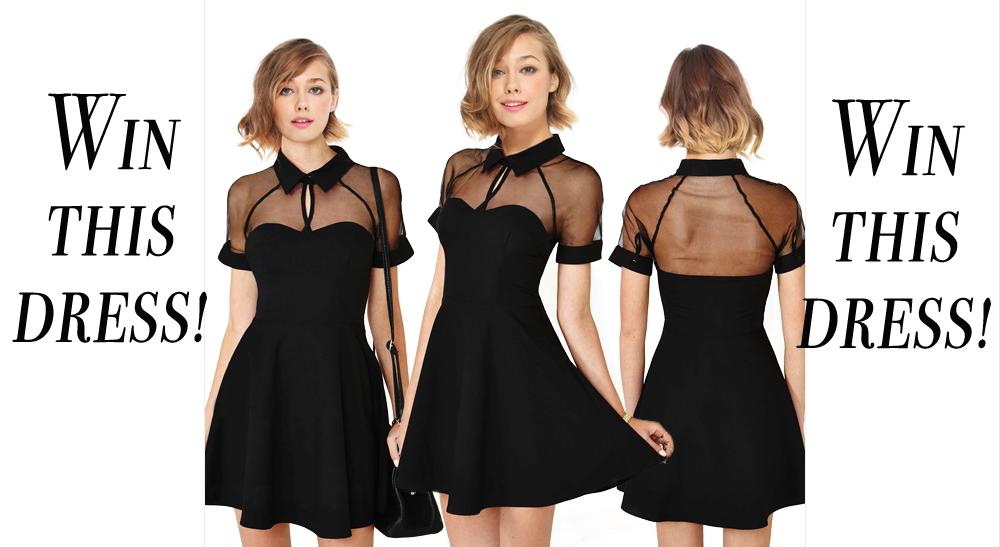 C a black dress 14