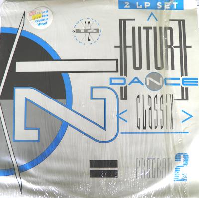 Future Dance Classix Program 2 (1990) non-stop dance trax 2LP Set Electro Hi-NRG Eurobeat Italo New Beat House Rap 90\'s \