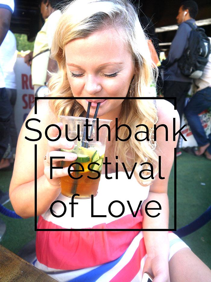 Southbank festival of love London fashion