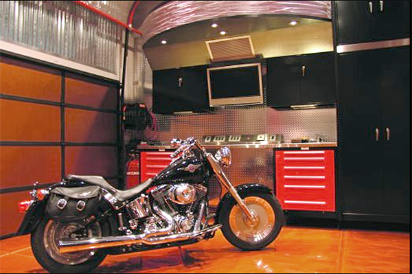 custom muscle car garages build your own garage car autos post. Black Bedroom Furniture Sets. Home Design Ideas