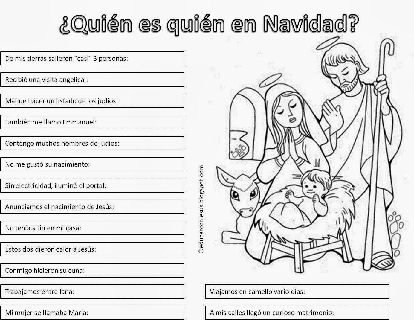 Dorable Hojas Para Colorear De Navidad Para Preescolar Motivo ...